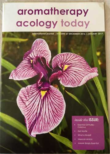Aromatherapy Acology Today International Journal | Volume 67 Dec 2016 / Jan 2017