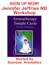 Jennifer Jeffries Aromatherapy Insight Cards