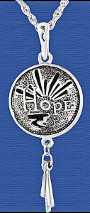 Hope in all things Diffuser Pewter Pendant