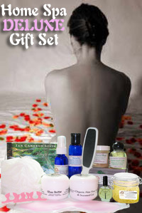 Home Spa Deluxe Gift Set