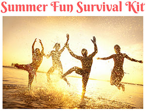 Summer Fun Survival Kit